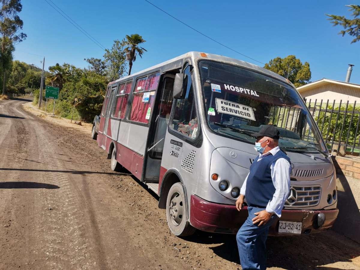 Seremi de Transportes presenta a vecinos nuevo servicio de transporte público para Ránquil
