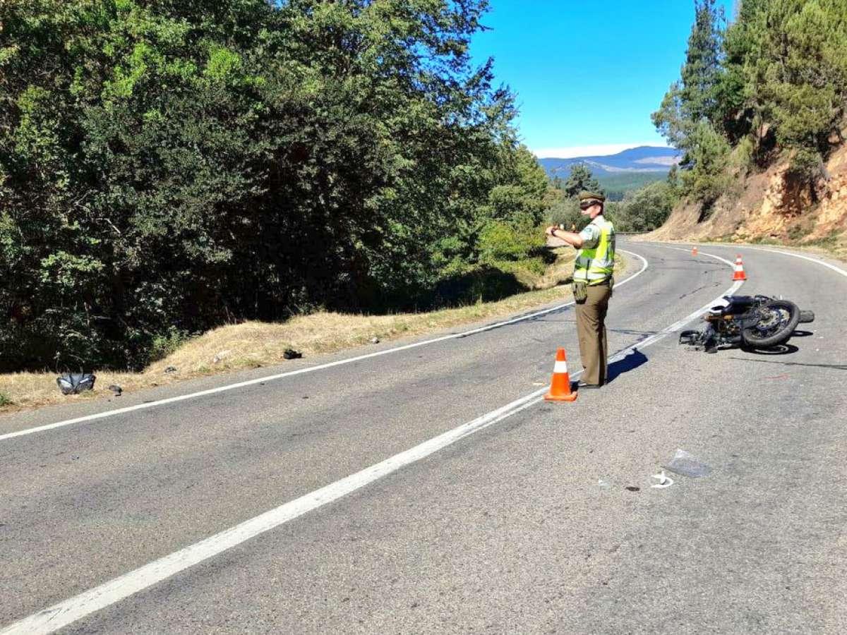 Carabineros de la SIAT cerró fin de semana de retorno con dos accidentes de tránsito con resultado de muerte