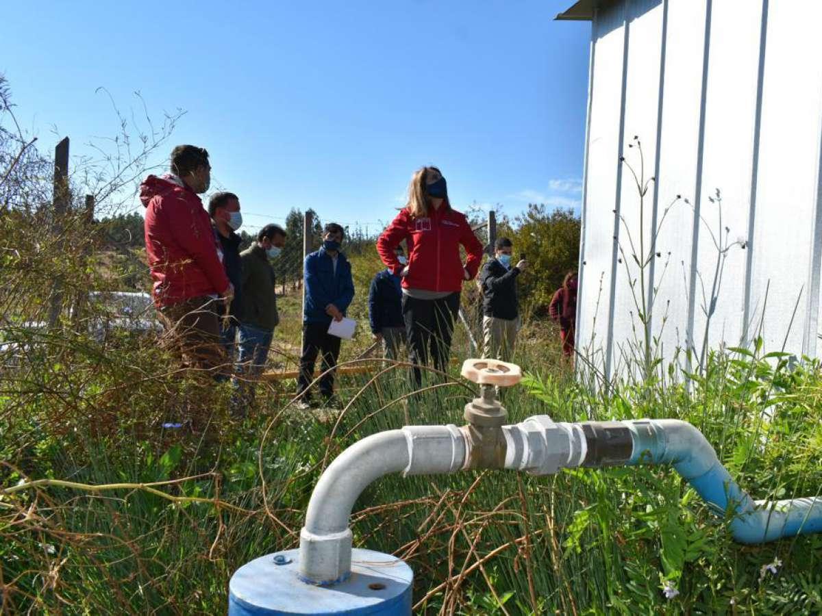 105 familias de Ránquil son beneficiadas con proyectos de agua potable rural