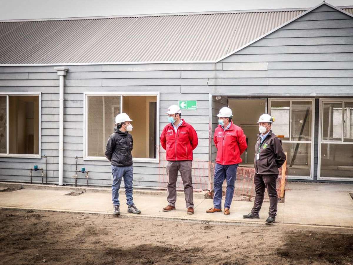 En etapa final construcción de viviendas tuteladas para adultos mayores EN Quillón y El Carmen