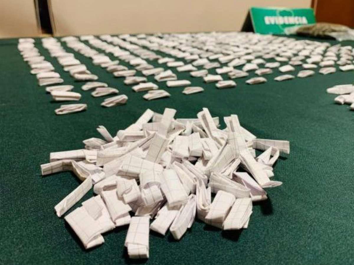 Detienen a hombre con 1.500 dosis de pasta base y marihuana en San Carlos