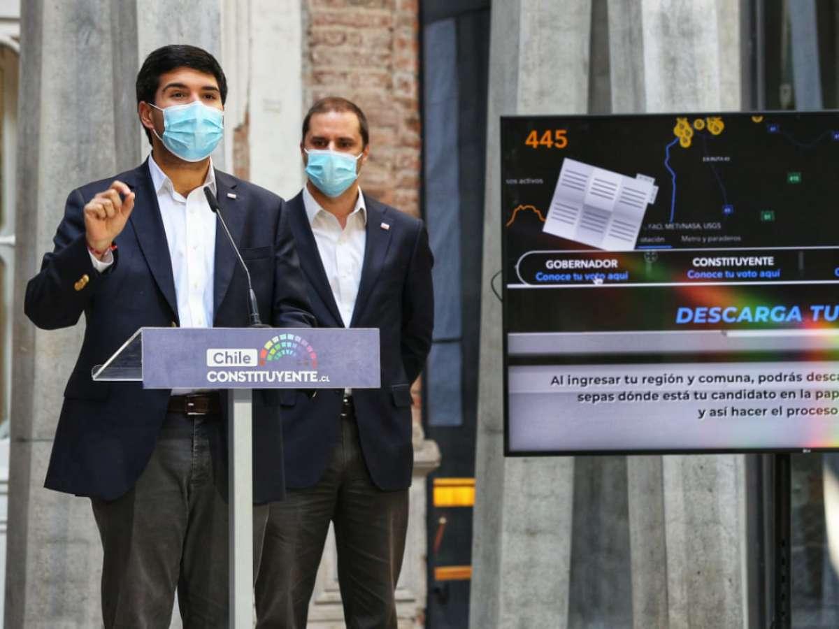 Bienes Nacionales presenta Visor de Elecciones en donde ñublensinos pueden 'ensayar' su voto