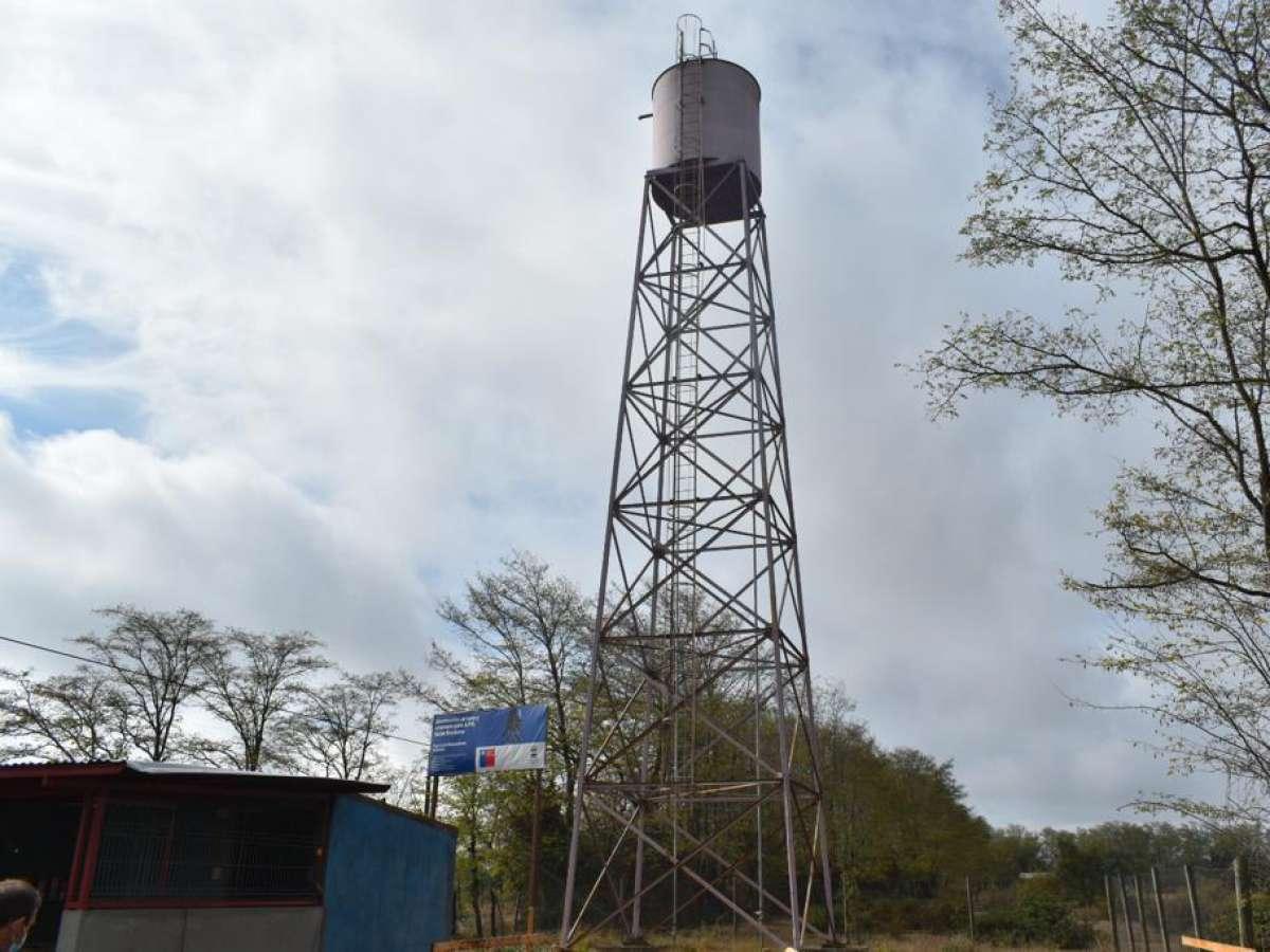 20 familias de Ránquil mejoran de manera sustancial su calidad de vida gracias a proyecto de agua potable financiado por Subdere