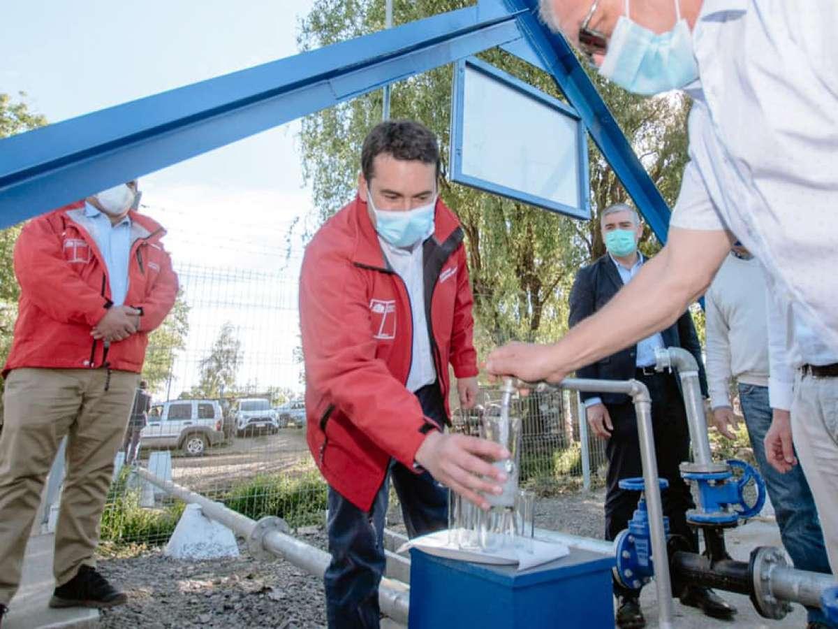 Más de 15 mil personas ya cuentan con agua potable rural desde que Ñuble es región