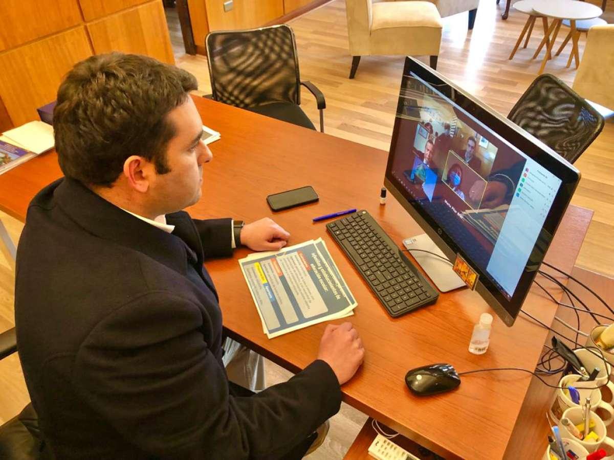 Delegado Presidencial de Ñuble realiza nueva Mesa Social Covid-19