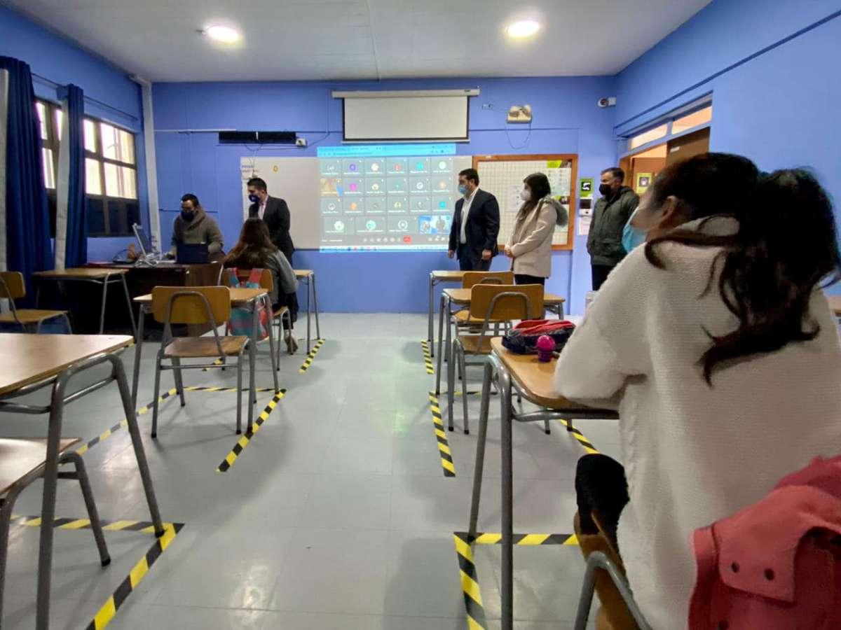 En el primer día más de 400 establecimientos de la Región de Ñuble iniciaron clases presenciales