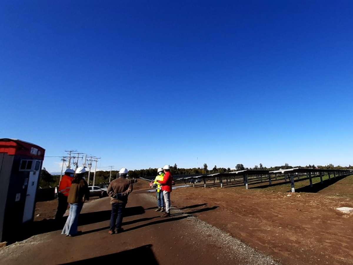 Inauguran plantas solares en Chillán Viejo que inyectan 18 MW al sistema eléctrico