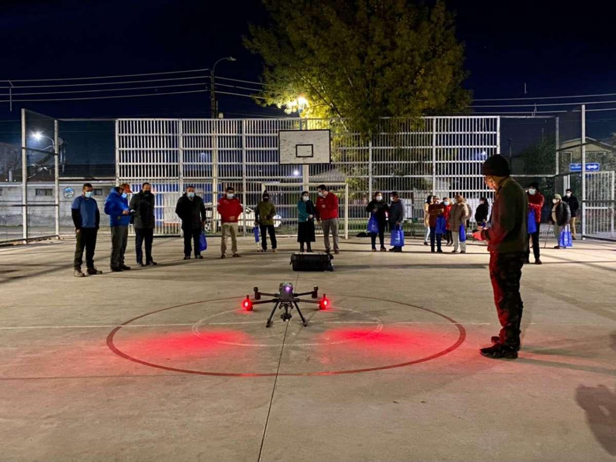 Más de 258 procedimientos se han realizado gracias a los drones de seguridad en Ñuble
