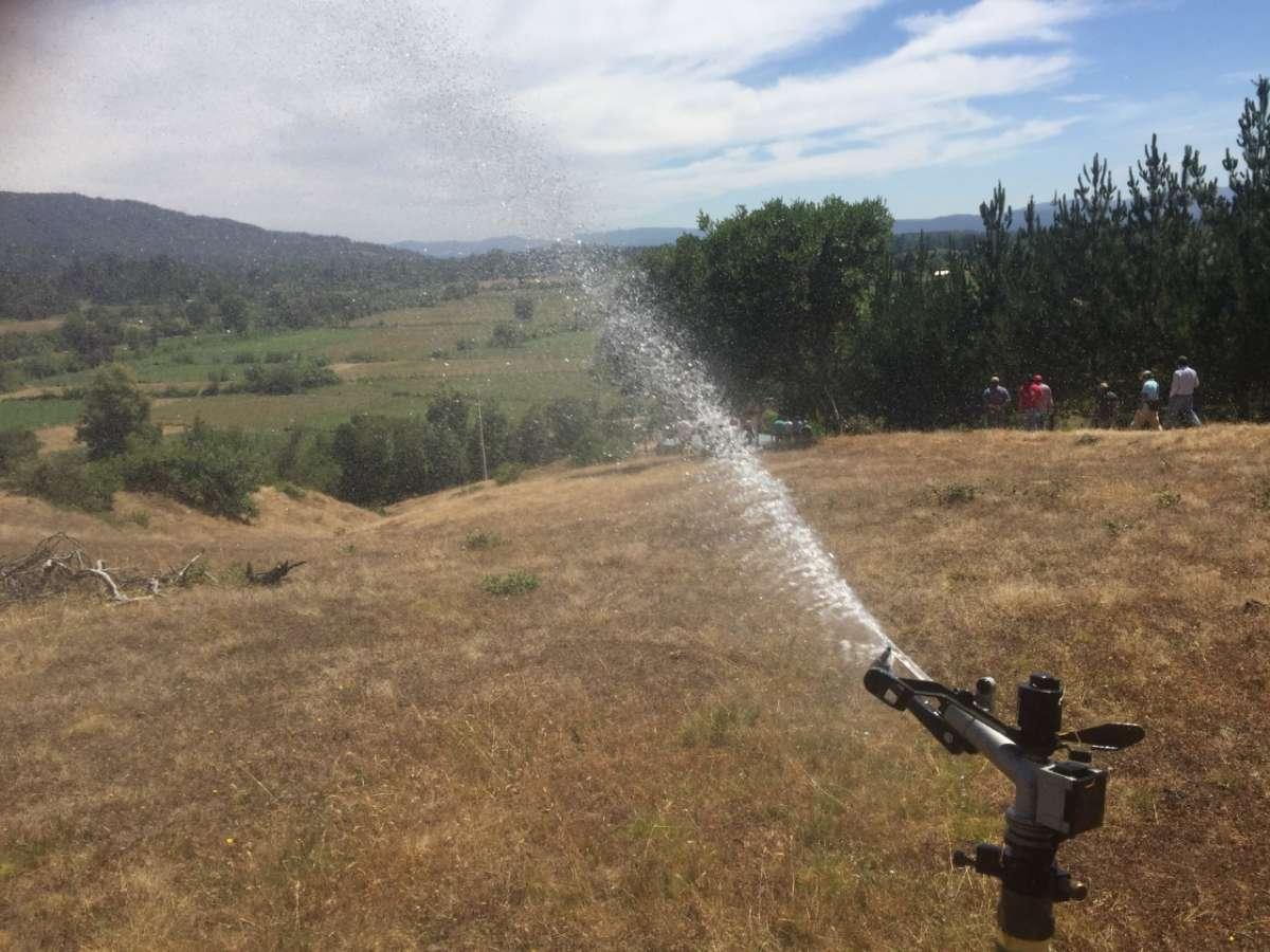 Seremi de Agricultura presenta al Gore proyecto para enfrentar crisis hídrica en la Región
