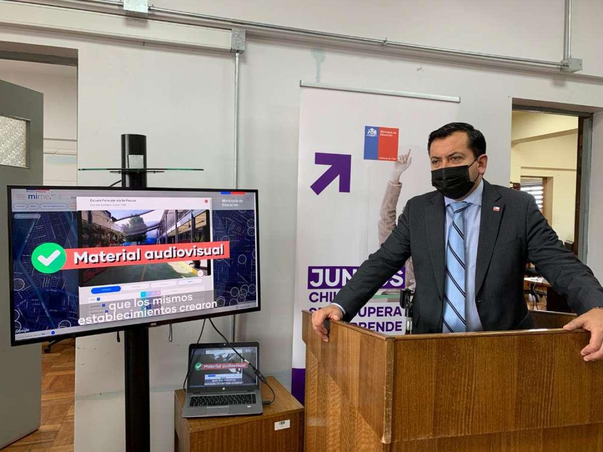Seremi de Educación de Ñuble lanza plataforma: Más Información, Mejor Educación (MIME)