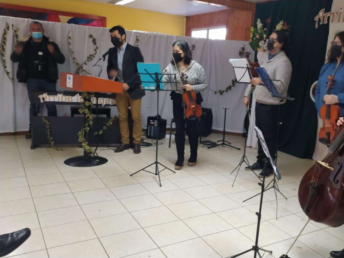 Seremi de Educación lanza en Pinto proyecto para fomentar las artes musicales en ñuble