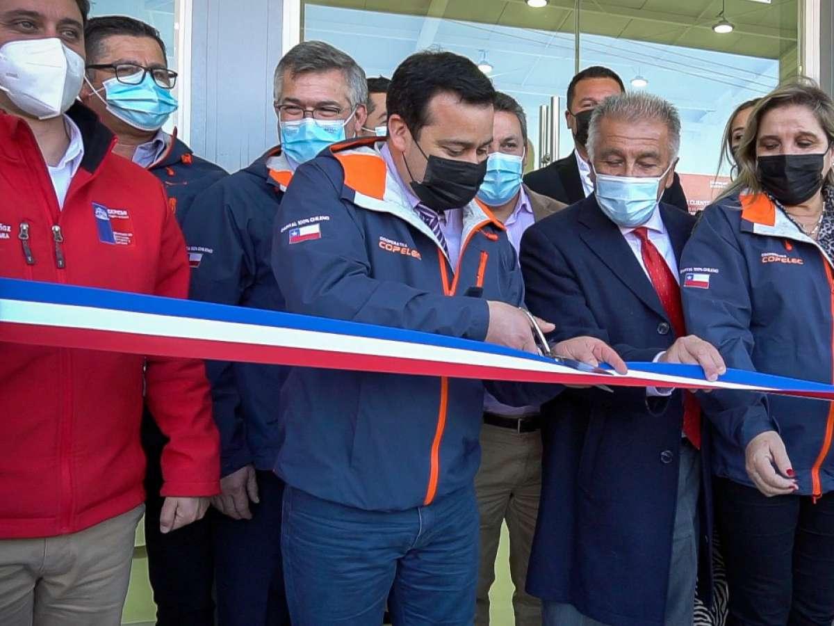 Copelec inaugura nueva sucursal en la comuna de San Nicolás.