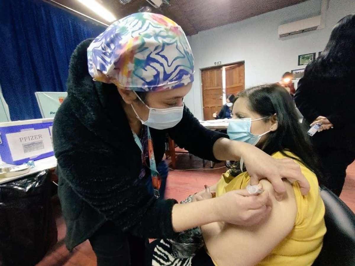 Ñuble llega al 95,8 por ciento de cobertura en vacunación contra el Covid-19