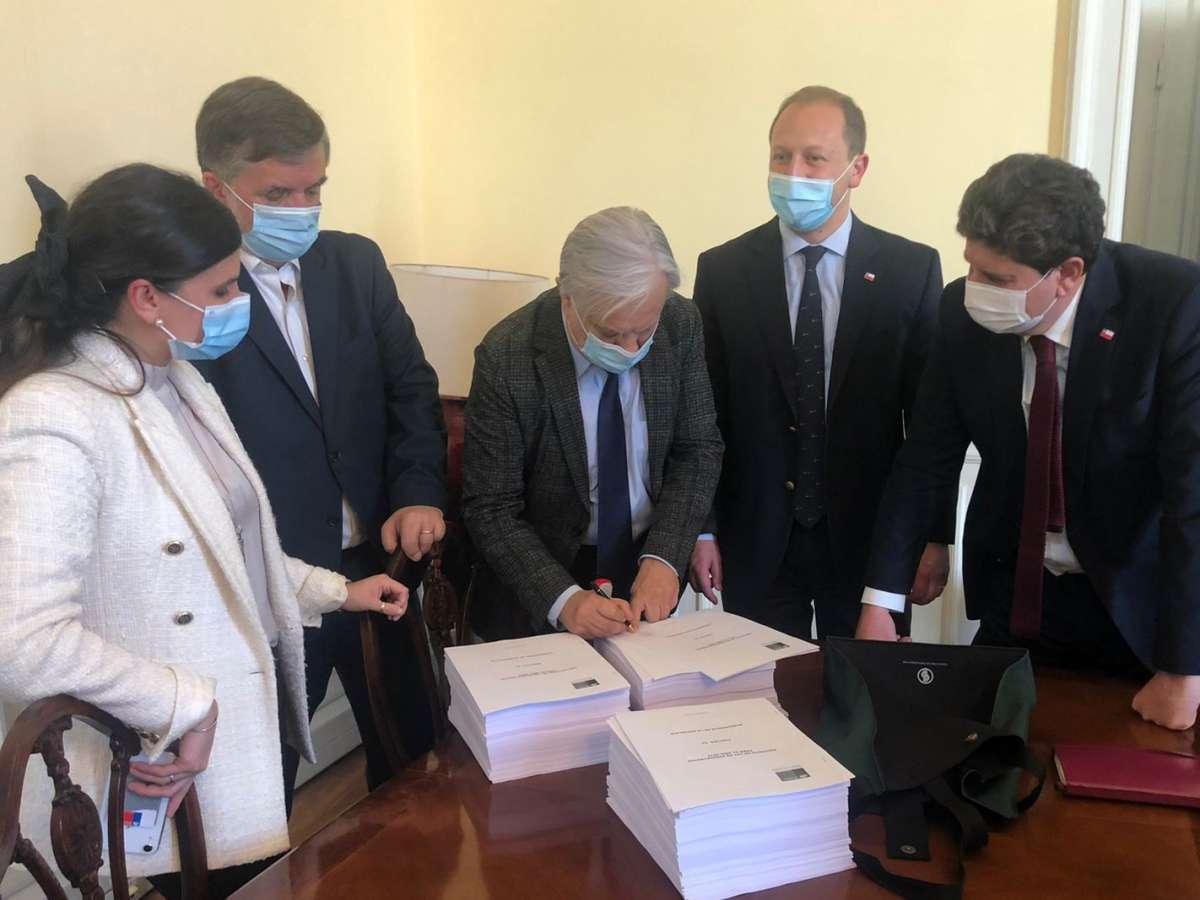 Gobierno ingresó a trámite legislativo el Presupuesto de la Nación para el año 2022
