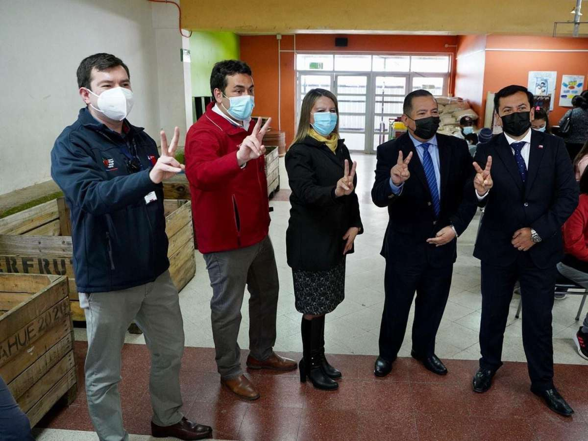 Ñuble inicia vacunación escolar contra el Covid-19 con el mejor avance del país