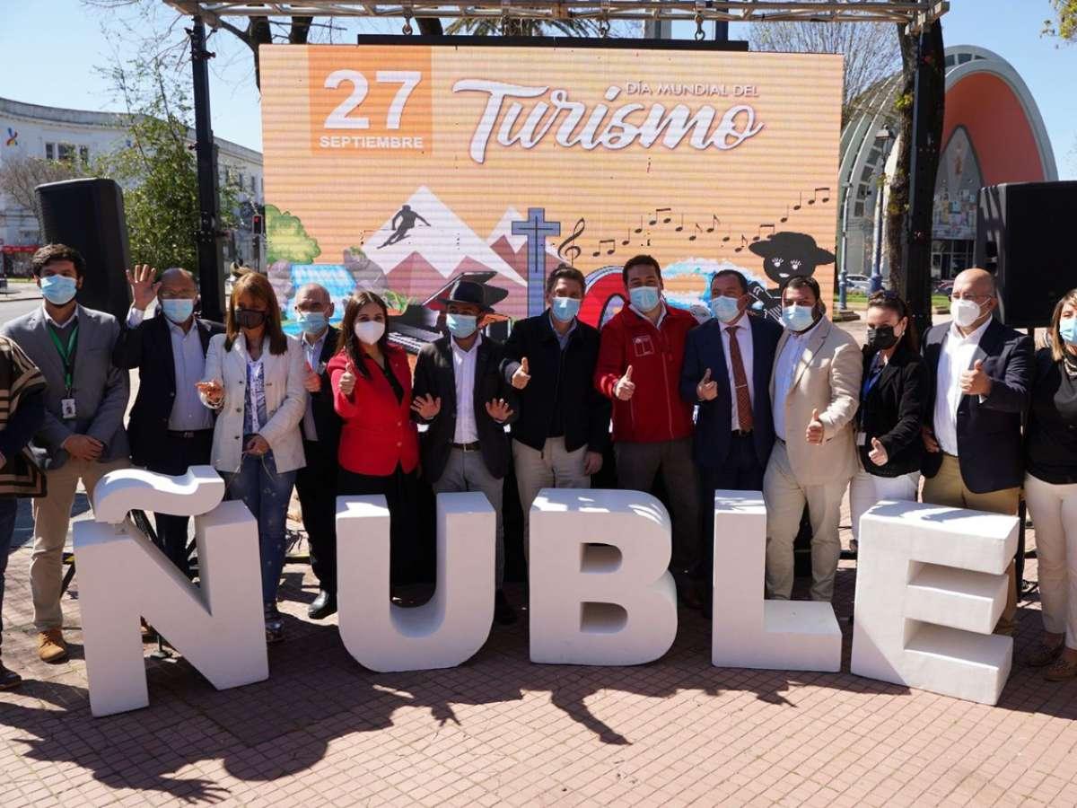 Ñuble mostró su oferta turística y atractivos en el Día Mundial del Turismo