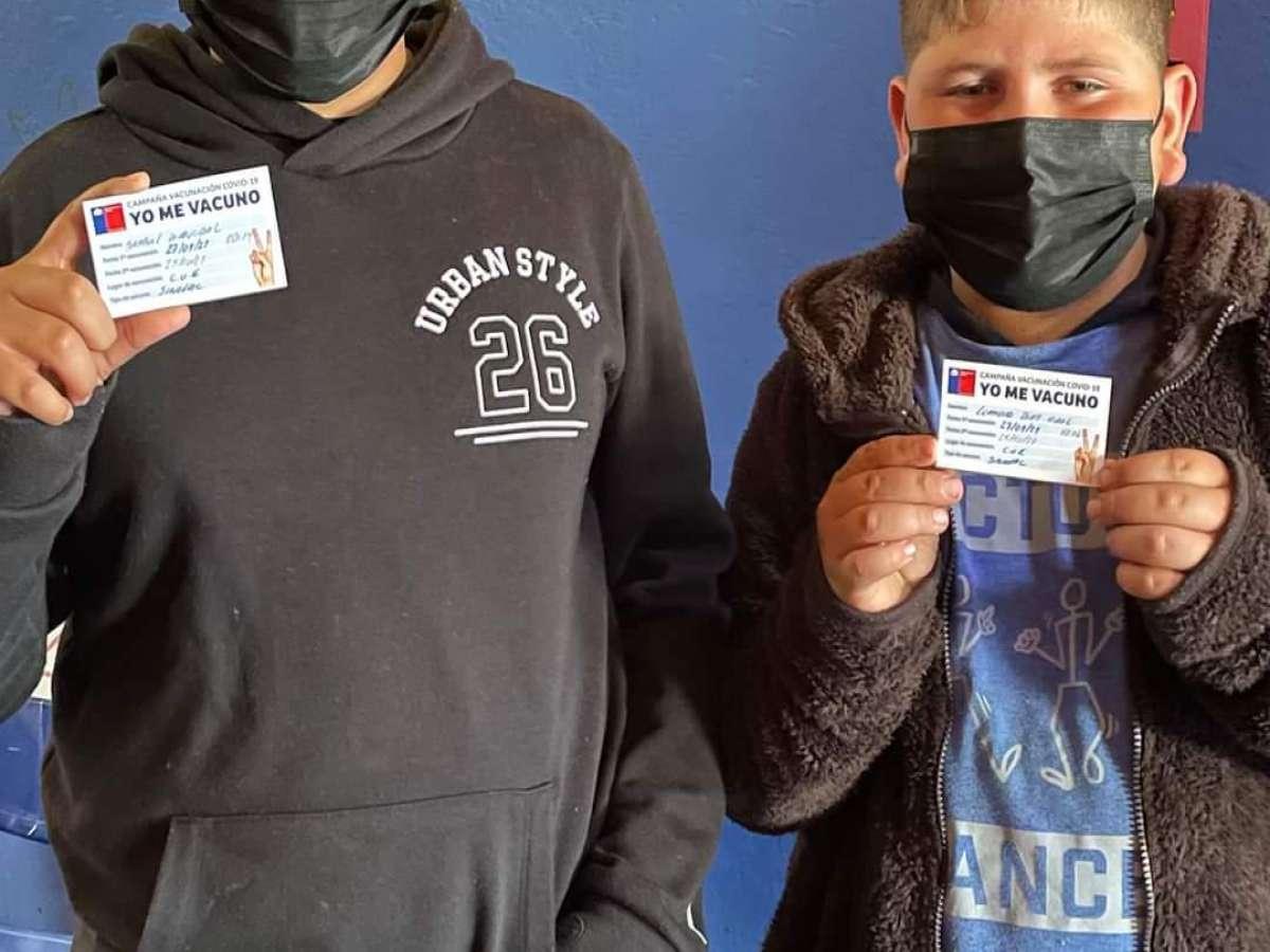 Cesfam Municipales de Chillán iniciaron vacunación masiva a niños de 6 a 11 años