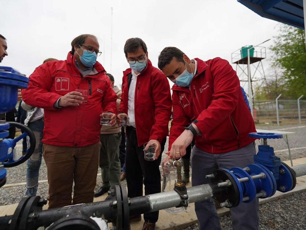 Más de 500 personas tendrán agua potable: Inauguran nuevo APR en El Carmen