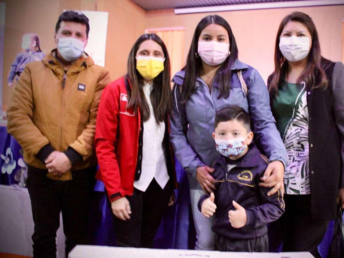 138 niños y niñas de Coihueco reciben el Rincón de Juegos