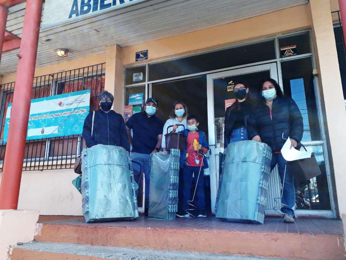 Continúa exitosa entrega de composteras municipales en Chillán