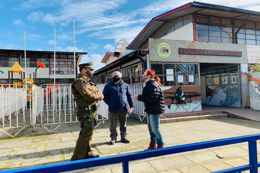Carabineros fiscalizará proceso presencial de solicitud de retiro de fondos previsionales en Chillán